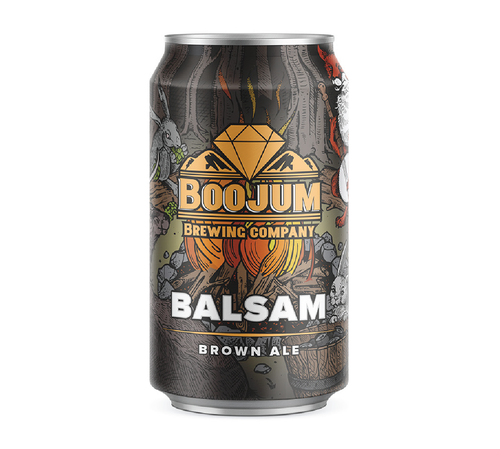 Boojum Brewing Co. 'Balsam Brown' Ale 12oz (Can)