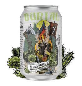 Burial Beer Co. 'Metallic Vessels' Black Lager w/ Coffee 12oz (Can)