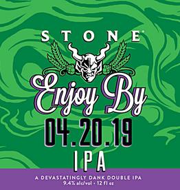 Stone Brewing 'Enjoy by 04.20.19' IPA 12oz Sgl