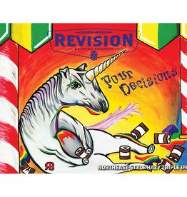 Revision 'Pour Decisions' Triple NE IPA 16oz (Can)