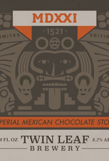 Twin Leaf 'MDXXI' Imperial Mexican Chocolate Stout 500ml
