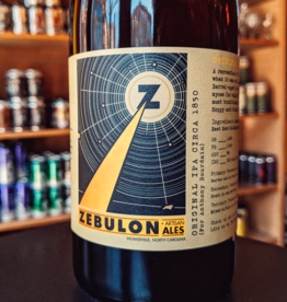 Zebulon Artisan Ales 'Original IPA circa 1850 For Anthony Bourdain' 750ml