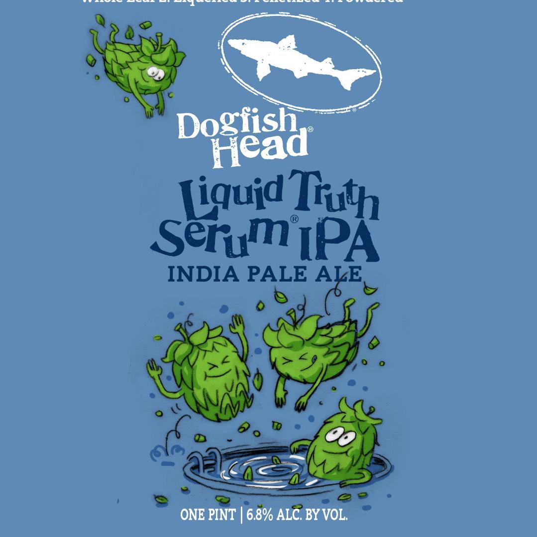 Dogfish Head 'Liquid Truth Serum' IPA 16oz Can