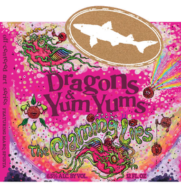 Dogfish Head x Flaming Lips 'Dragons & Yum Yums' Pale Ale 12oz Sgl