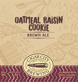 Cigar City 'Oatmeal Raisin Cookie' Brown Ale 12oz (Can)