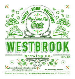 Westbrook 'Key Lime Pie' Gose 12oz (Can)