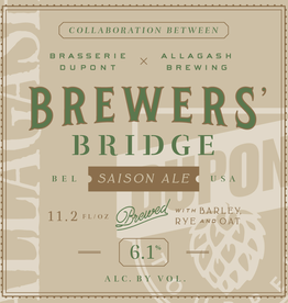 Dupont 'Brewers Bridge' Saison 330ml