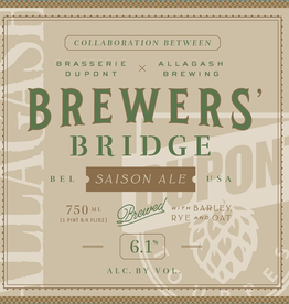 Dupont 'Brewers Bridge' Saison 750ml