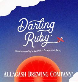 Allagash Brewing Co. 'Darling Ruby' Farmhouse Ale 12oz Sgl