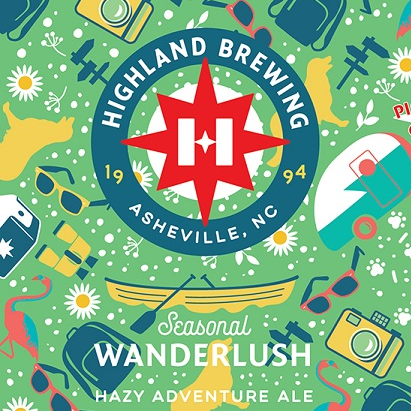 Highland 'Wanderlush' Hazy Adventure Ale 12oz (Can)