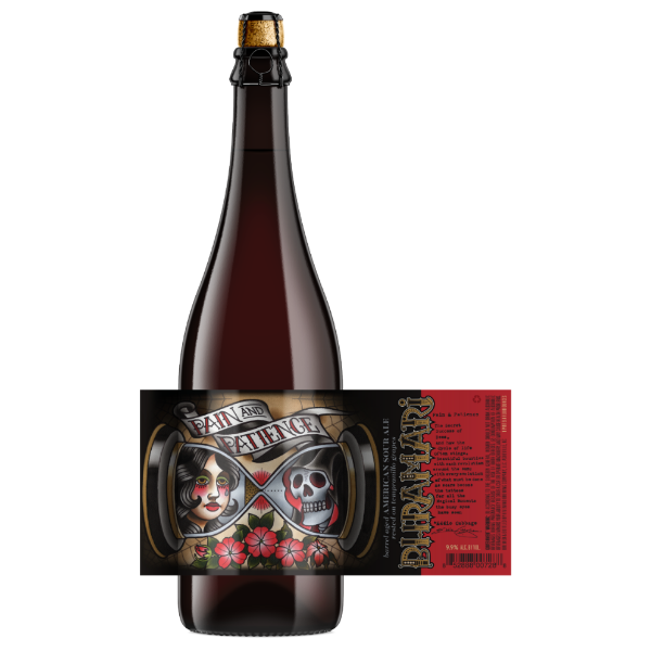 Bhramari 'Pain & Patience' Barrel Aged American Sour 750ml