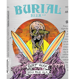 Burial Beer Co. 'Surf Wax' IPA 12oz (Can)