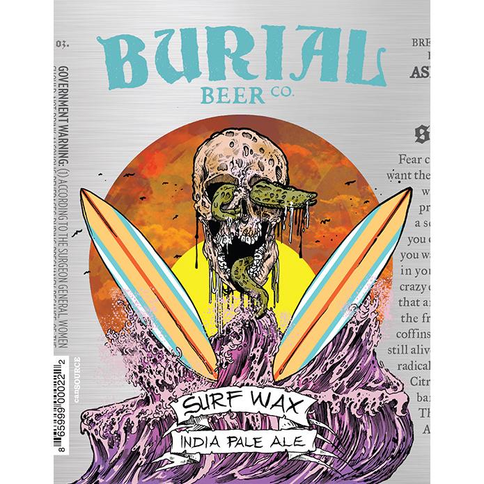 Burial 'Surf Wax' IPA 12oz (Can)