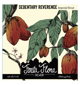 Fonta Flora 'Sedentary Reverence' Imperial Stout 32oz Growler
