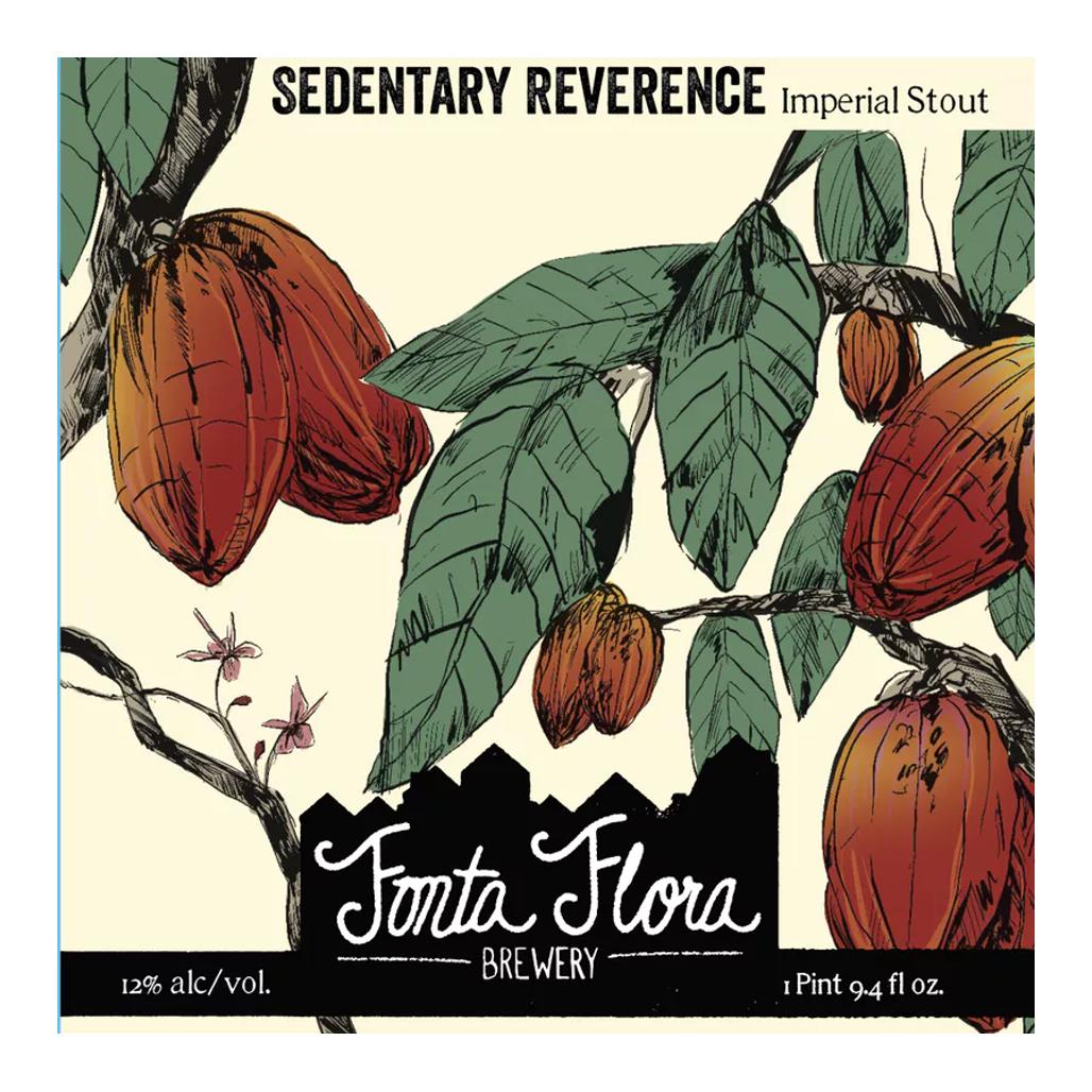 Fonta Flora 'Sedentary Reverence' Imperial Stout 32oz Growler