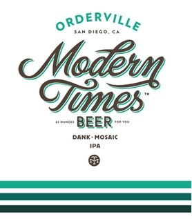 Modern Times 'Orderville' Hazy IPA 16oz Can