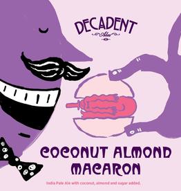 Decadent Ales 'Coconut Almond Macaron' DIPA 16oz Can