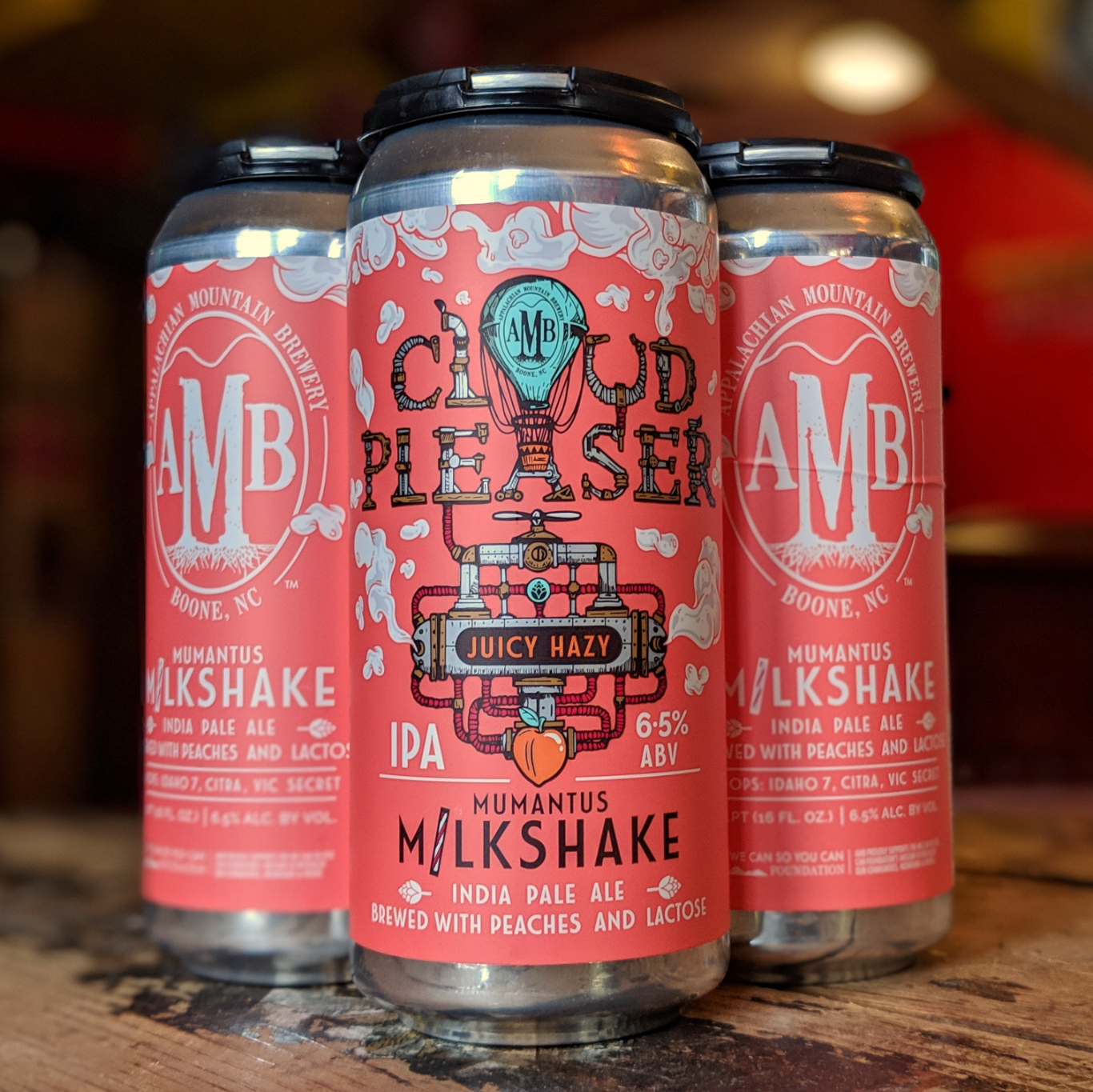 Appalachian Mountain Brewery 'Mumantus' Milkshake IPA 16oz Can