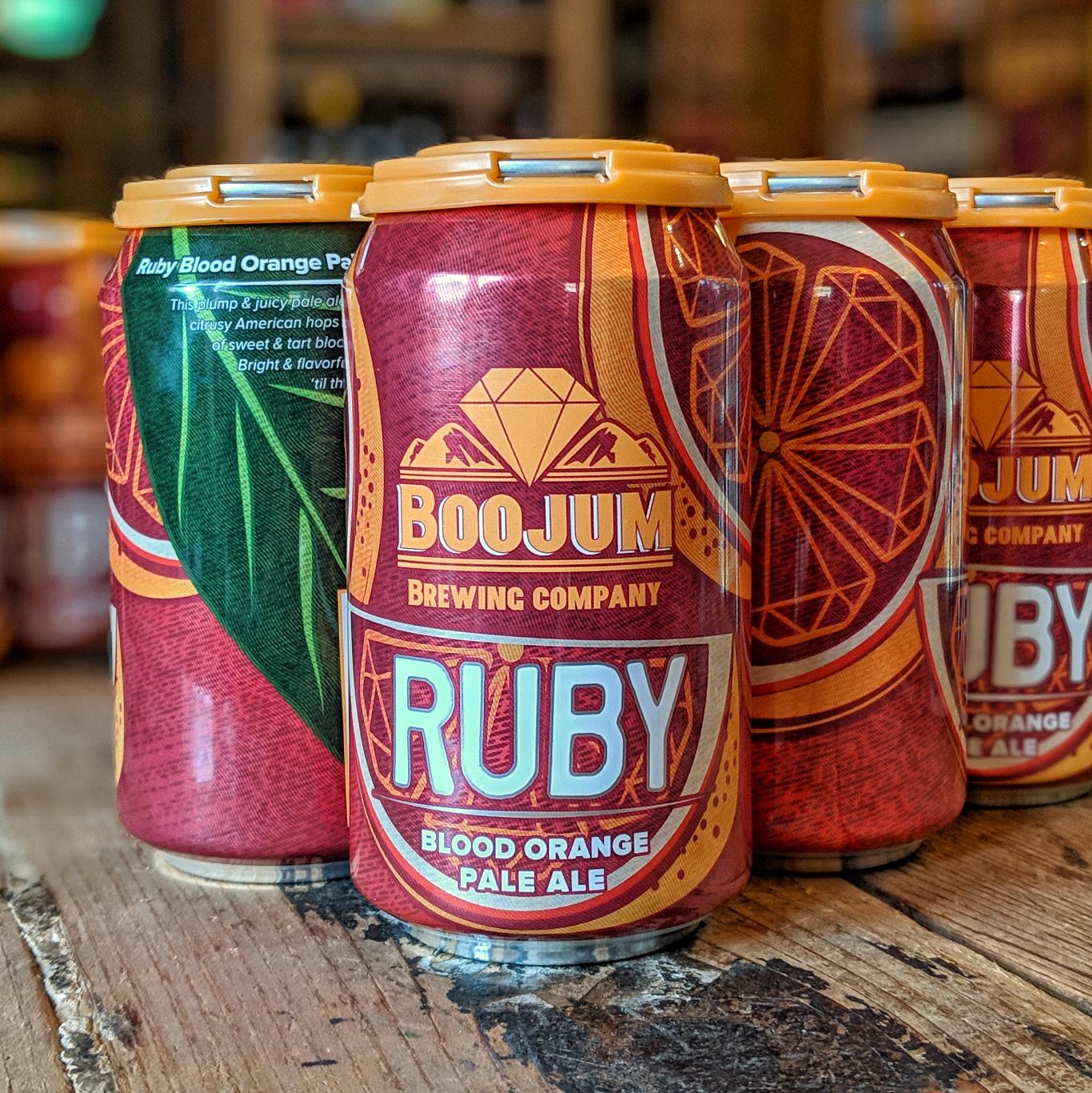 Boojum Brewing Co. 'Ruby Blood Orange Pale' 12oz Can