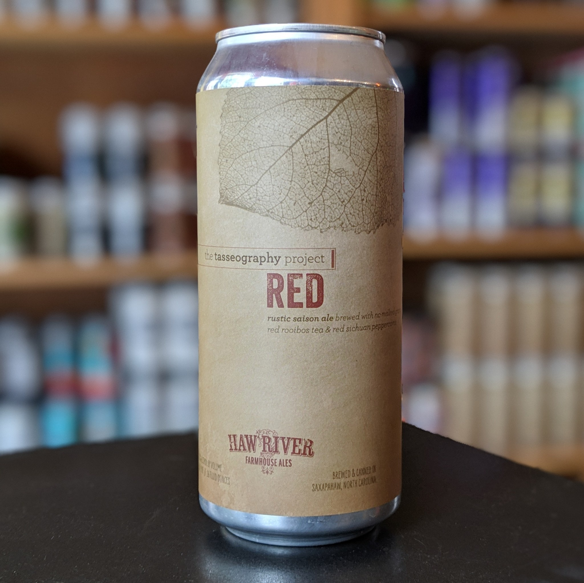 Haw River Farmhouse Ales 'The Tasseography Project - Red' Saison 16oz Can
