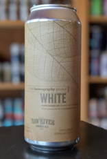 Haw River Farmhouse Ales 'The Tasseography Project - White' Saison 16oz Can