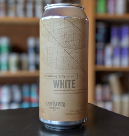 Haw River Farmhouse Ales 'The Tasseography Project - White' Saison 16oz Can