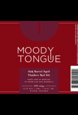 Moody Tongue 'Flander Red' Sour Ale 12oz Sgl