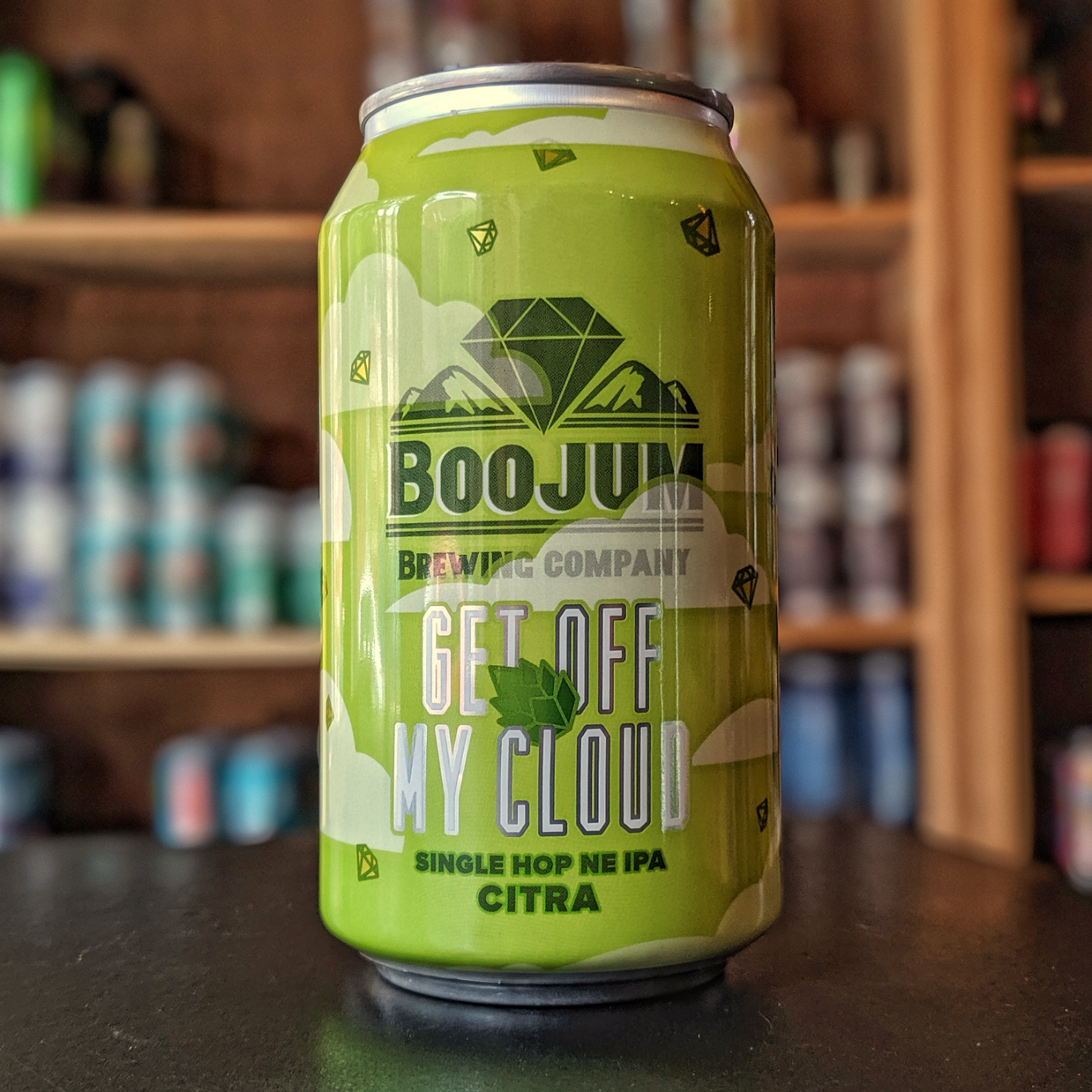 Boojum Brewing Co. 'Single Hop Get Off My Cloud - Citra' New England-style IPA 12oz Can