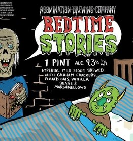 Abomination 'Bedtime Stories' Imperial Milk Stout 16oz Can