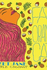 Fat Orange Cat 'Sweet Jane Pineapple Coconut' New England-Style IPA 16oz Can