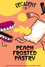 Decadent Ales 'Peach Frosted Pastry' IPA 16oz Can