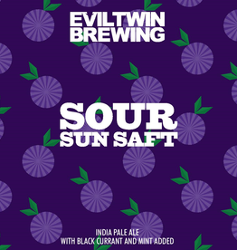 Evil Twin Brewing 'Sour Sun Saft' Sour IPA 16oz Can