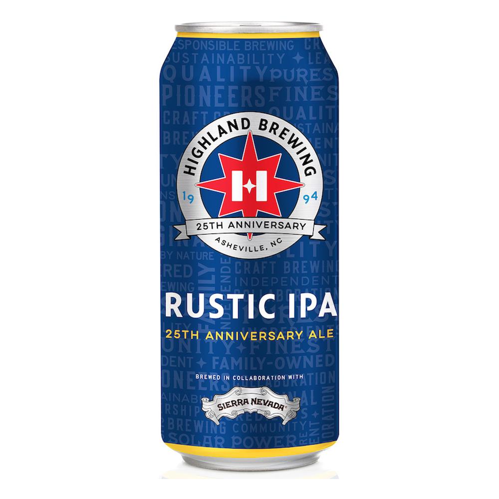 Highland x Sierra Nevada 'Rustic IPA' 25th Anniversary Ale 16oz Can