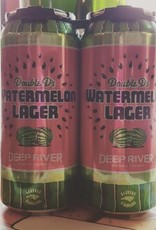 Deep River 'Double Ds Watermelon Lager' 16oz Can