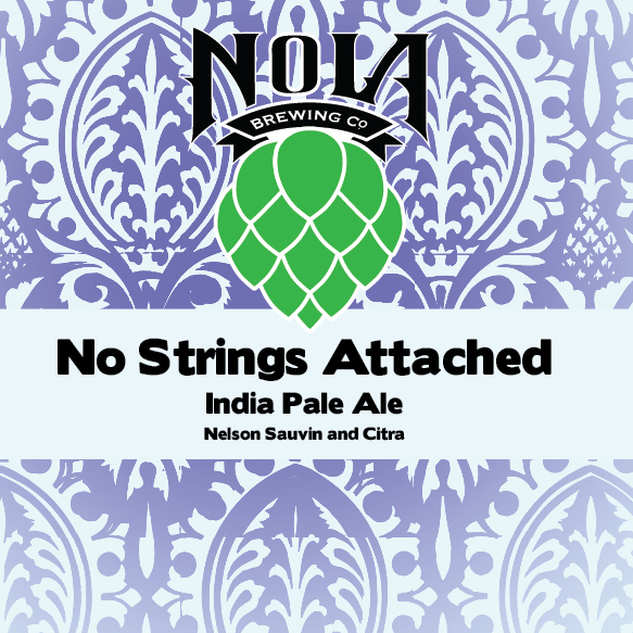 NOLA 'No Strings Attached' IPA 16oz Can