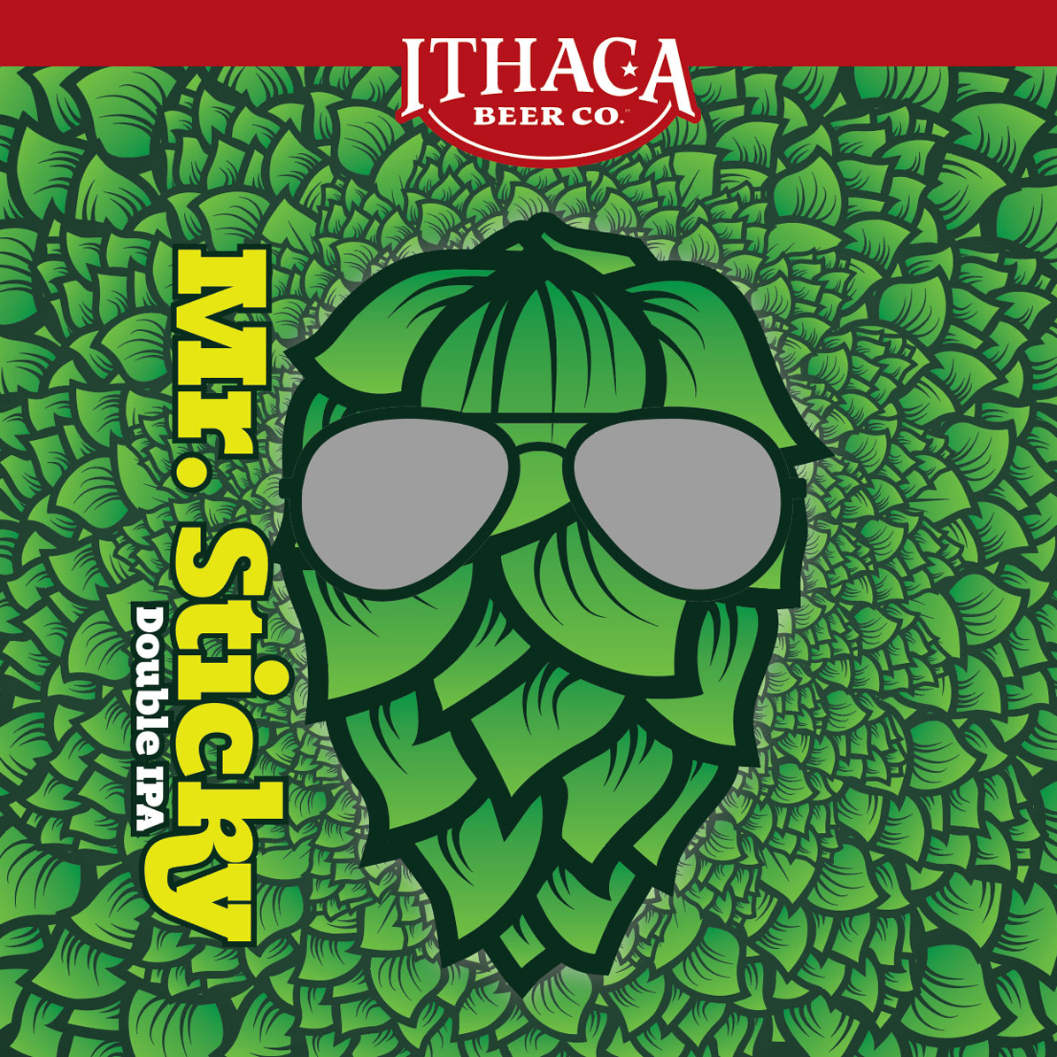 Ithaca 'Mr. Sticky' Double IPA 16oz Can