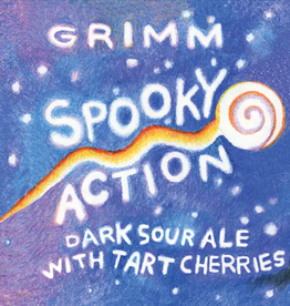 Grimm Artisanal Ales 'Spooky Action' Fruited Dark Sour Ale 500ml