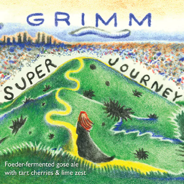 Grimm Artisanal Ales 'Super Journey' Gose 500ml