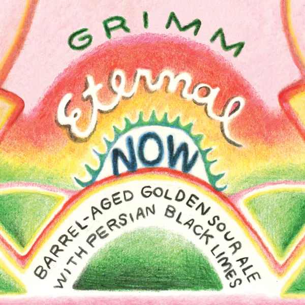 Grimm Artisanal Ales 'Eternal Now' Blended Barrel-aged Sour 500ml