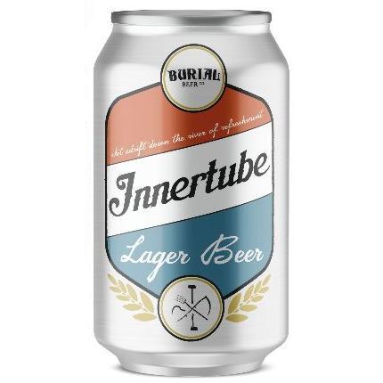 Burial Beer Co. 'Innertube' Light Lager 12oz Can