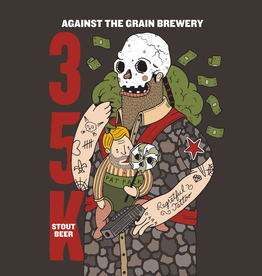Against the Grain '35K' Stout Beer 16oz Can