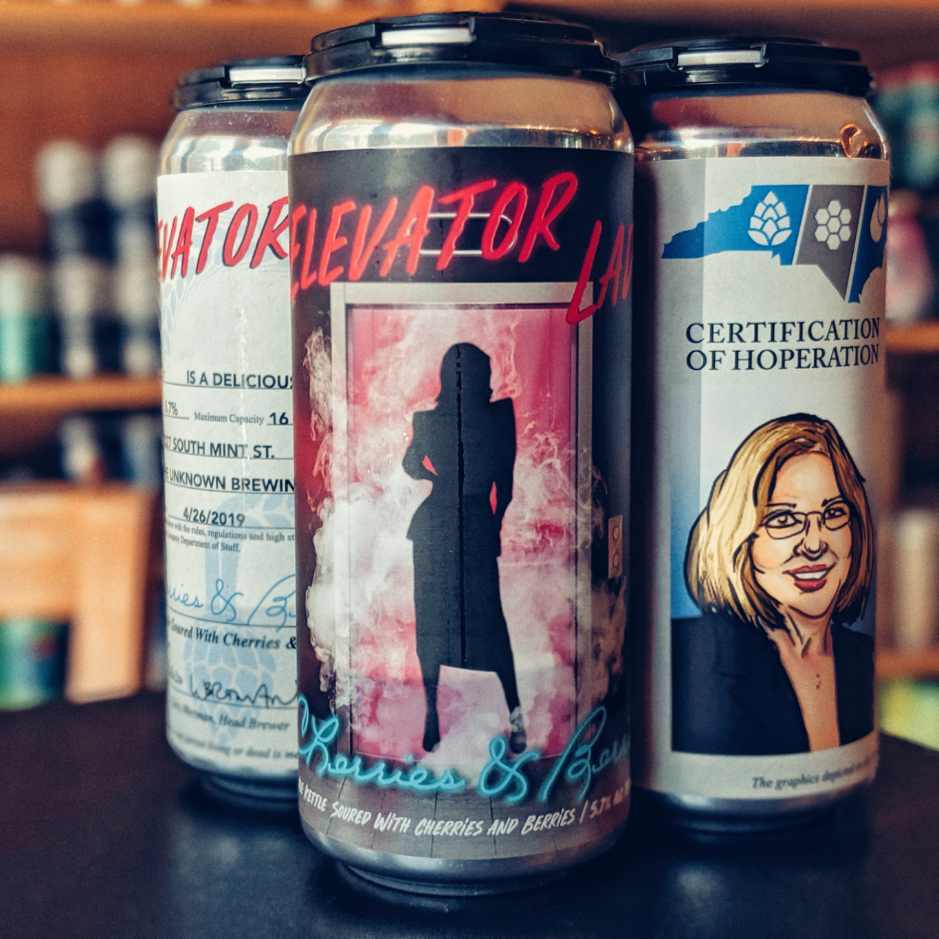 Unknown 'Elevator Lady' Kettle Sour 16oz Can