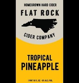 Flat Rock Cider Company 'Tropical Pineapple' 16oz Can