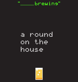 Blank Brewing 'A Round On The House' Imperial Milk Stout 16oz (Can)