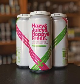 Hi-Wire Brewing 'Hazy & Juicy & Hoppy & Fresh' New England-style IPA 16oz Can