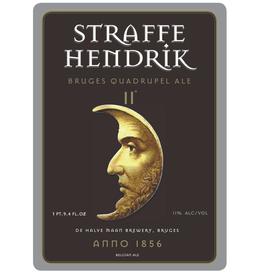 Straffe Hendrik/De Halve Maan 'Bruges Quadrupel Ale' 330ml