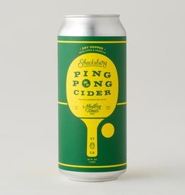 Shacksbury x Modern Times 'Ping Pong' Dry-Hopped Cider 16oz Can
