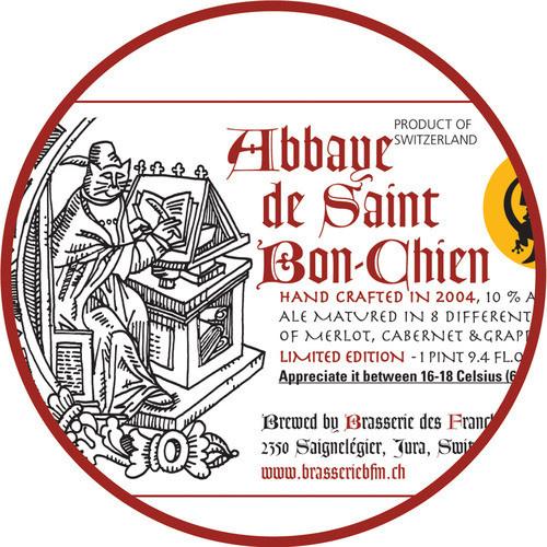 BFM 'Abbaye de Saint Bon-Chien 2017' 32oz Growler
