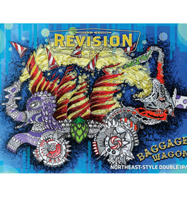 Revision 'Baggage Wagon' Northeast-style Double IPA 16oz Can