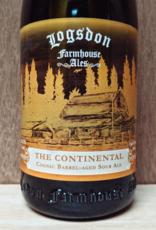 Logsdon 'The Continental' Cognac Barrel aged Golden Sour Ale  750ml